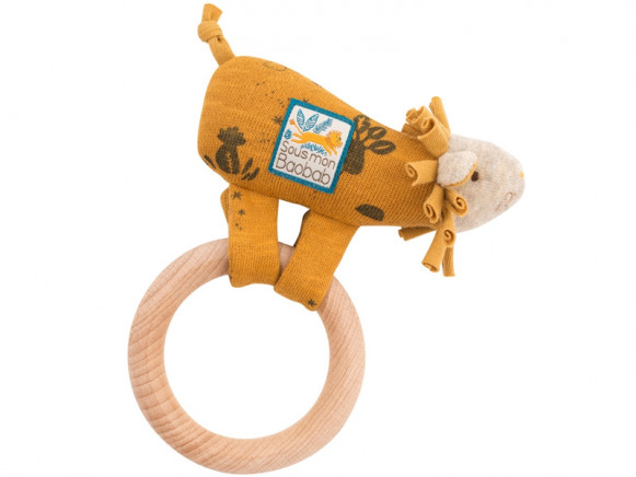 Moulin Roty Rattle Ring LION