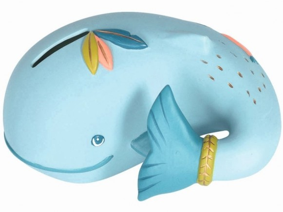 Moulin Roty Money Box WHALE