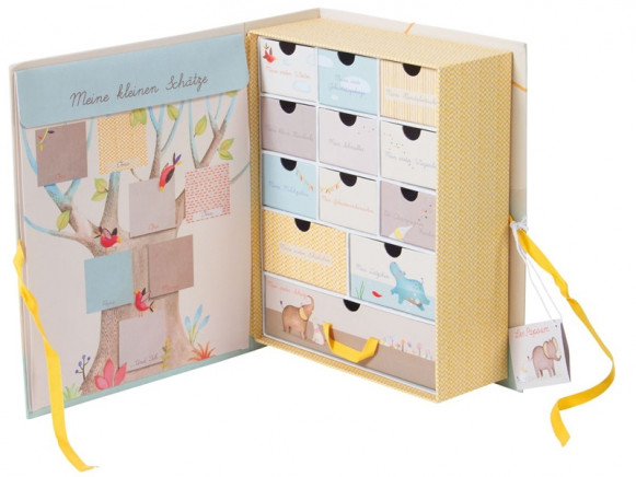 Moulin Roty Baby Memories Gift Box LES PAPOUM