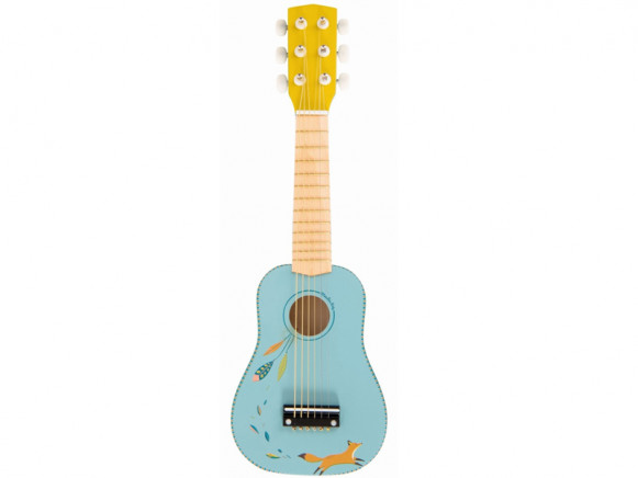 Moulin Roty Guitar FOX light blue