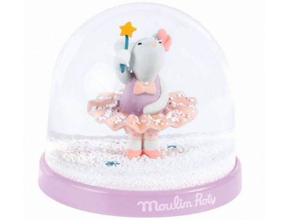 Moulin Roty Snow Globe MOUSE FAIRY