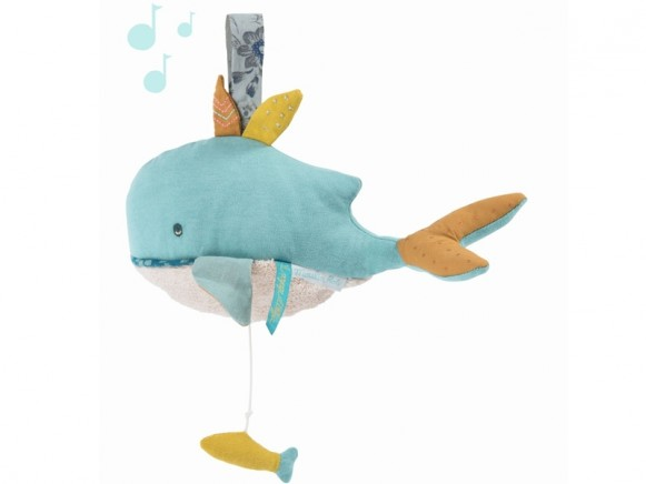 Moulin Roty Music Box WHALE
