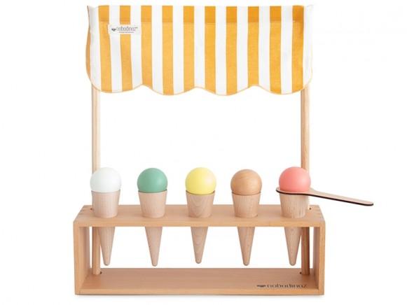 Nobodinoz Ice Cream Parlour HONEY STRIPES