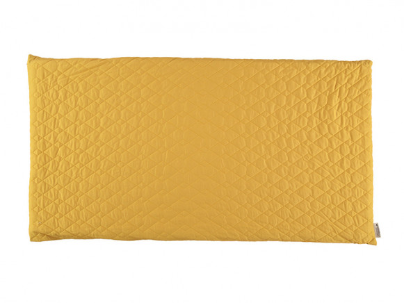 Nobodinoz Mattress MONACO Farniente yellow