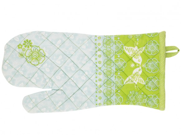 Kitchen glove Emily in blue-green by Overbeck & Friends