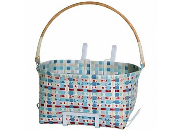 """Large bicycle basket """"Finn"""" by Overbeck and Friends"""