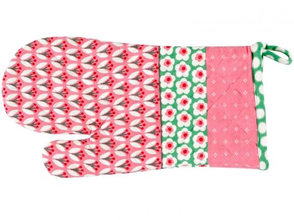 Overbeck kitchen glove Theresa pink