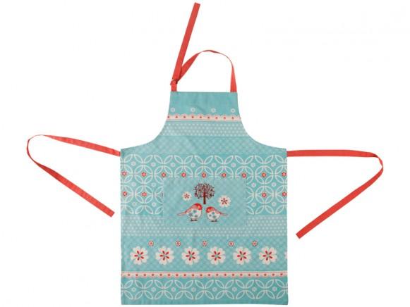 Overbeck apron Amélie blue