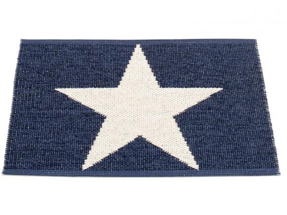 Pappelina door mat Viggo Star blue