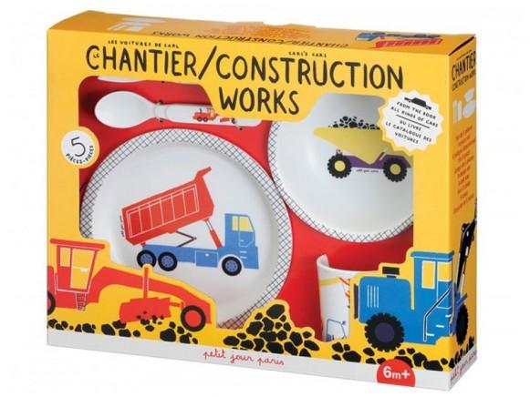 5-Piece Gift Box Construction Site by Petit Jour