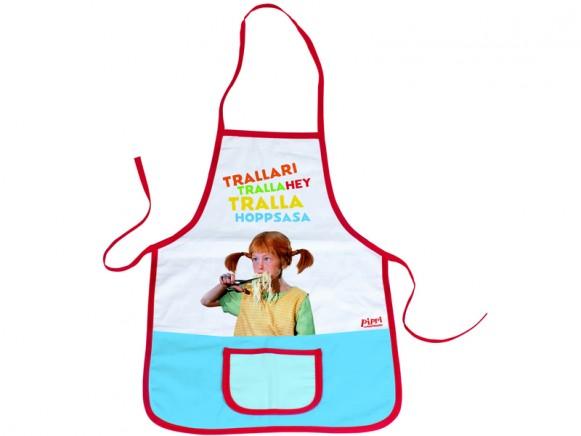 Pippi Longstocking kids apron