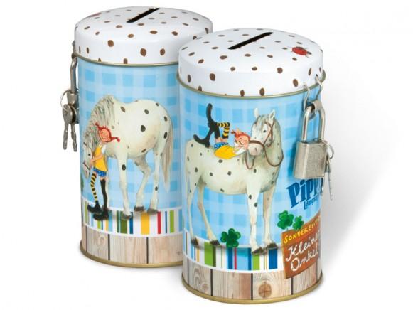 Pippi Longstocking savings box by Oetinger