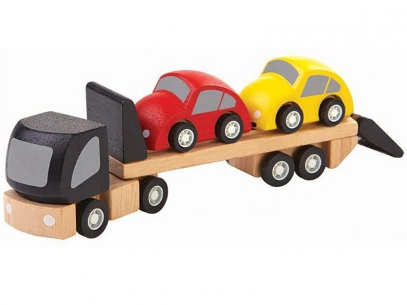 Plantoys Mini Vehicle CAR TRANSPORTER