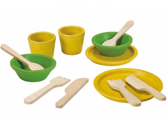 Plantoys Crockery Set