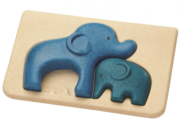 PlanToys Puzzle ELEPHANTS