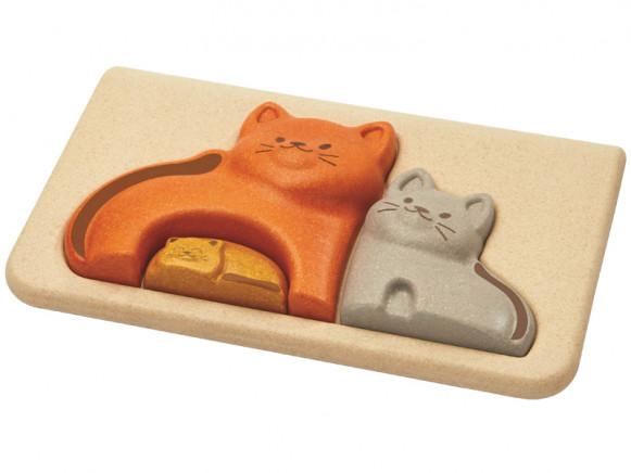 PlanToys Puzzle CATS