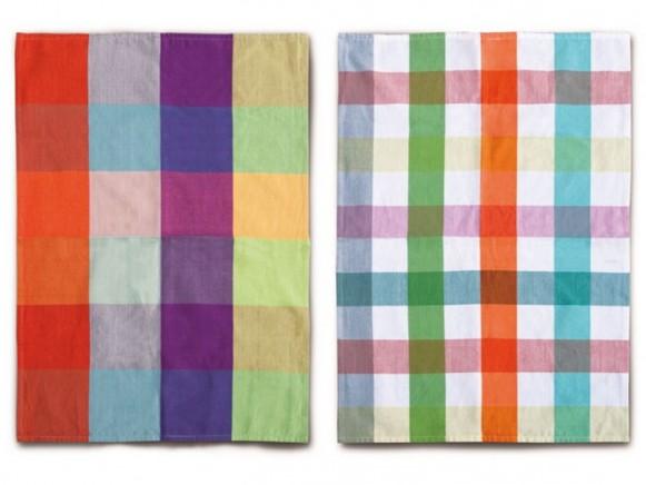 Remember tea towel checks