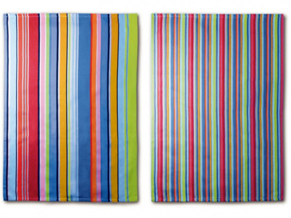 Remember tea towel stripes