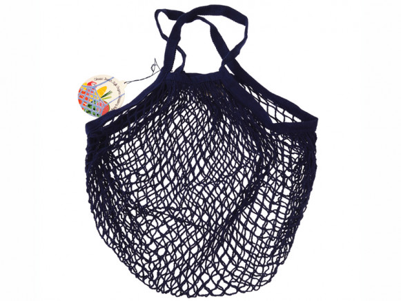 Rex London Organic Shopping Net Bag NAVY BLUE