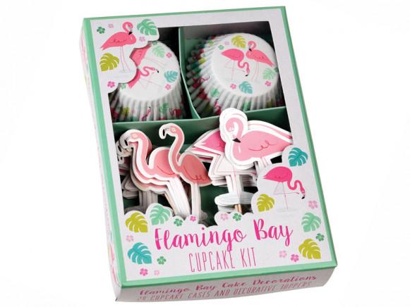 Rex London Cupcake Kit FLAMINGO