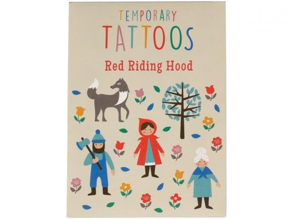 Rex London Tattoos RED RIDING HOOD