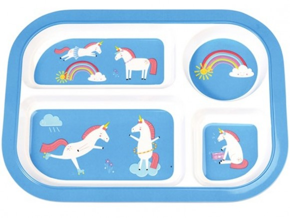 Rexinter melamine tray plate UNICORN