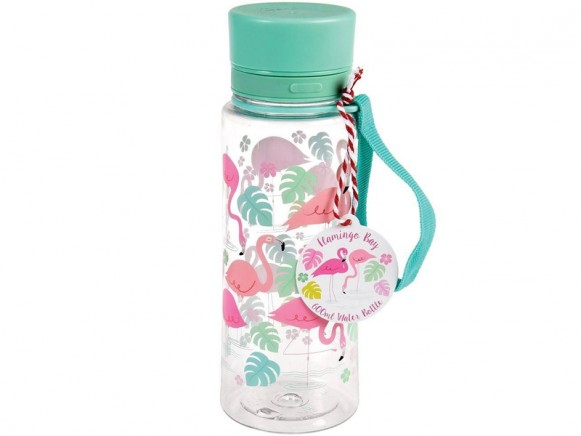Rex London water bottle Flamingo