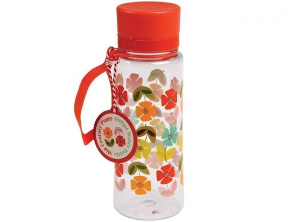 Rexinter water bottle Midcentury Poppy