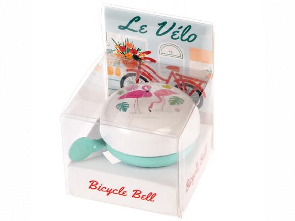 Rex London Bicycle Bell FLAMINGO