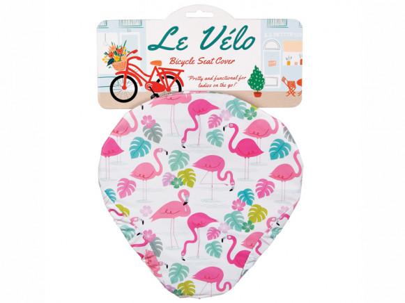 Rex London Bicycle Seat Cover FLAMINGO