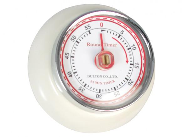 Rex London Vintage Magnetic Kitchen Timer IVORY
