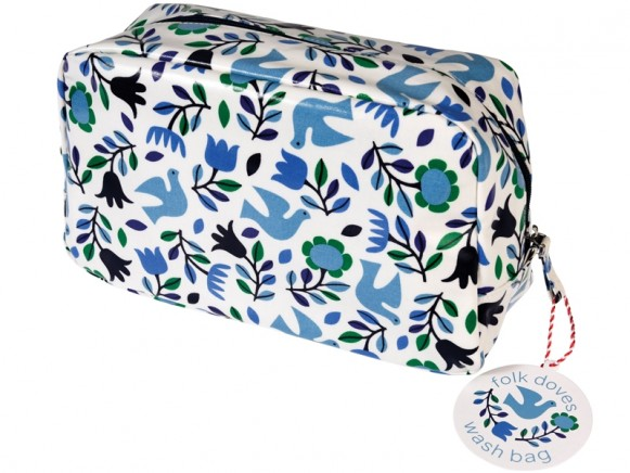 Rexinter toiletry bag FOLK DOVES