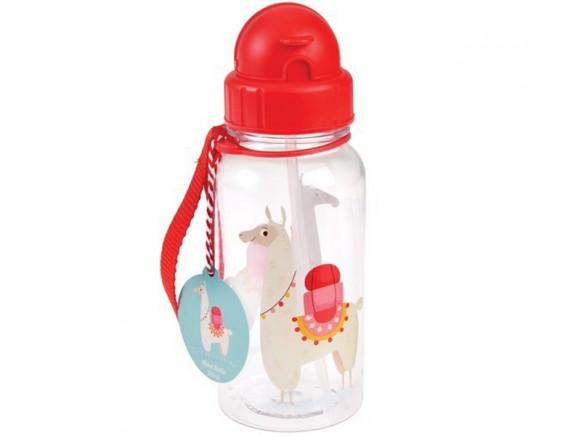 Rex London kids water bottle LAMA