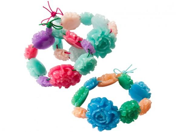 Chrysanthemum bracelet by RICE Denmark