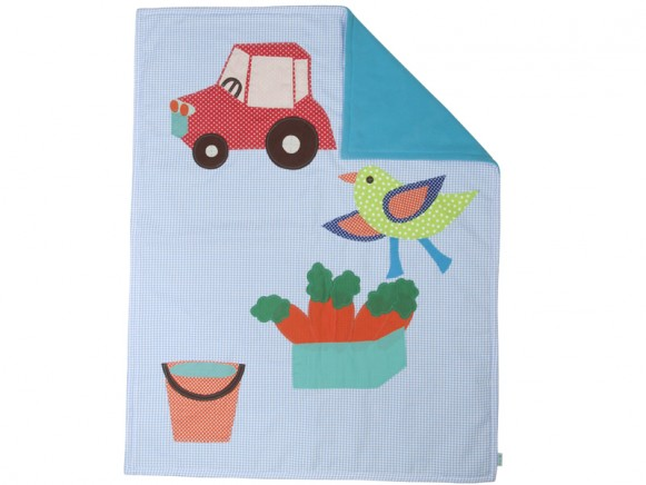 Baby blanket for boys with applications by RICE