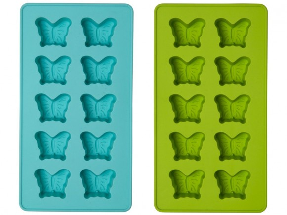 Butterfly chocolate mold by RICE Denmark