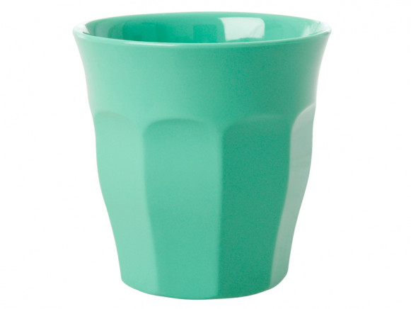 RICE Melamine Cup emerald green
