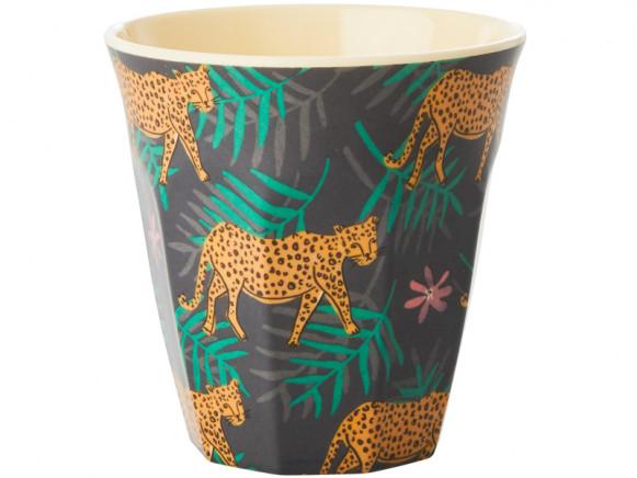 RICE Melamine Cup LEOPARD