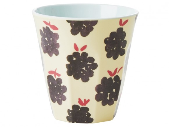 RICE Melamine Cup BLACKBERRIES