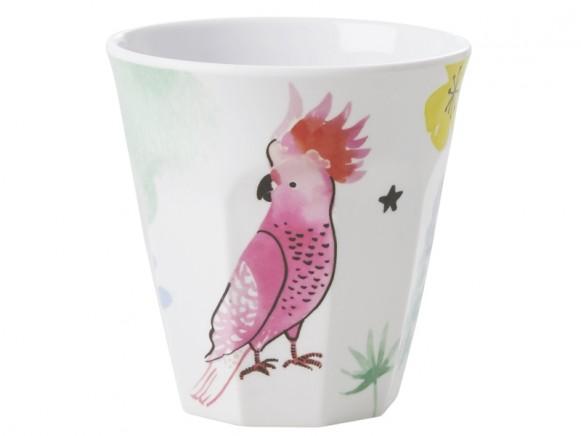 RICE Melamine Cup COCKATOO