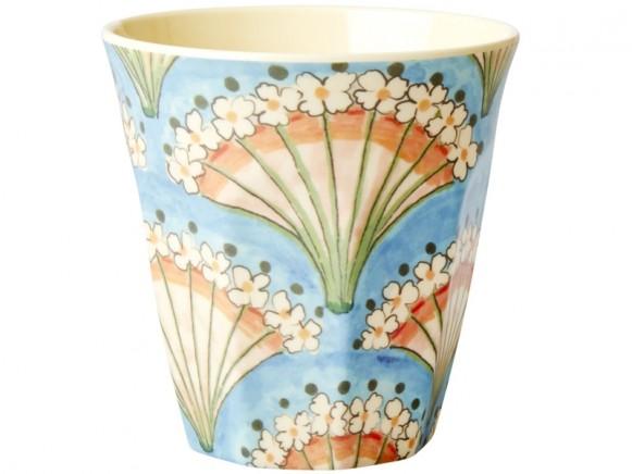 RICE Melamine Cup FLOWER FAN