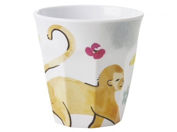 RICE Melamine Cup MONKEY
