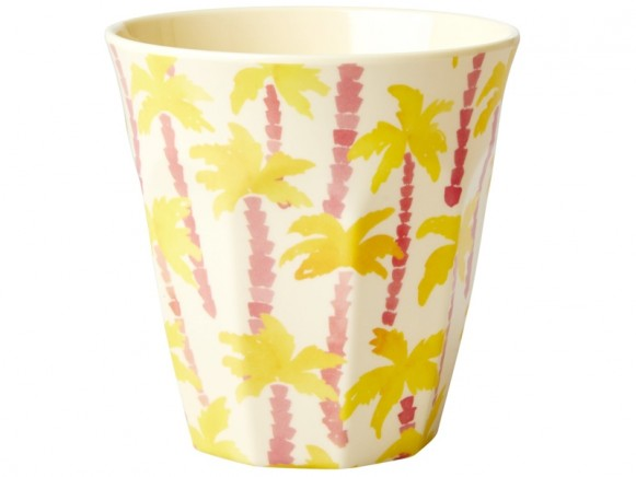 RICE Melamine Cup PALM TREES