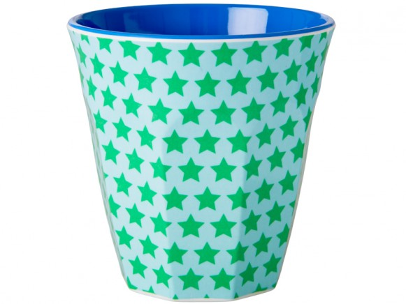 RICE melamine cup with stars
