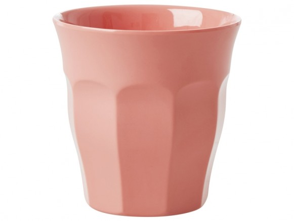 RICE Melamine Cup coral