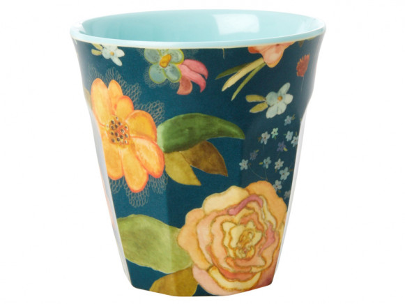 RICE Melamine Cup SELMA'S FALL FLOWERS