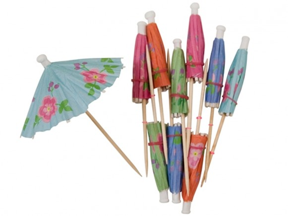 Small paper parasol sticks by RICE