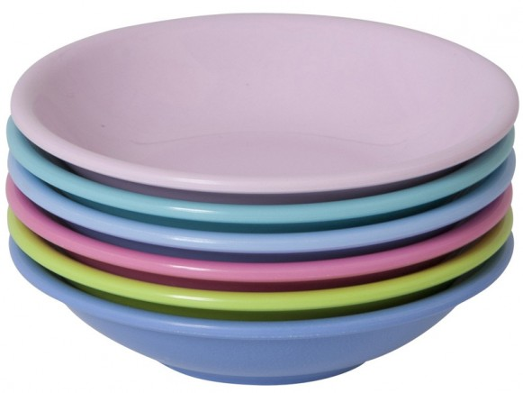 Small dipping bowls in entartaining colours by RICE