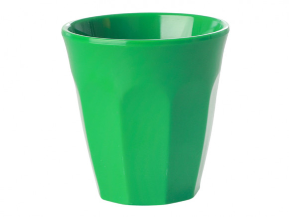 RICE Melamine Espresso Cup forest green
