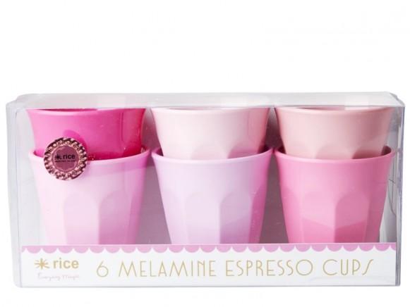 RICE Melamine Espresso Cups SOP colors